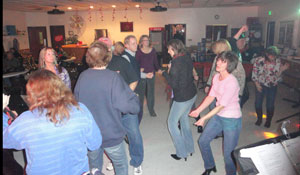 Fans dancing at Feb 12, 2011 show