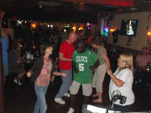 Rother's Pub June 18 LaPorte Lisa and Fans Dancing